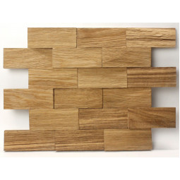 Деревянная 3D мозаика - line3d120k-1 - 360*300 мм