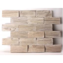 Деревянная 3D мозаика - line3d120k-2 - 360*300 мм