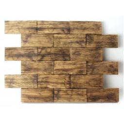 Деревянная 3D мозаика - line3d120k-3 - 360*300 мм