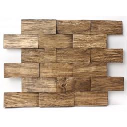 Деревянная 3D мозаика - line3d120k-4 - 360*300 мм
