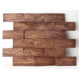 Деревянная 3D мозаика - line3d120k-6 - 360*300 мм