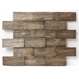 Деревянная 3D мозаика - line3d120k-8 - 360*300 мм