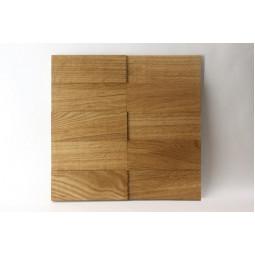 Деревянная мозаика - line3d150s-1 - 300*300 мм