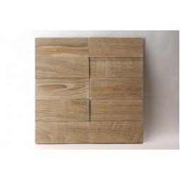 Деревянная мозаика - line3d150s-2 - 300*300 мм