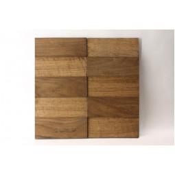 Деревянная мозаика - line3d150s-4 - 300*300 мм