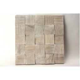 Деревянная 3D мозаика - quadro3d60k-2 - 300*300 мм