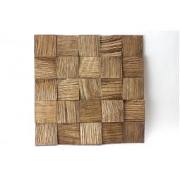 Деревянная 3D мозаика - quadro3d60k-4 - 300*300 мм