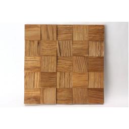 Деревянная 3D мозаика - quadro3d60k-5 - 300*300 мм