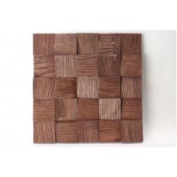 Деревянная 3D мозаика - quadro3d60k-6 - 300*300 мм