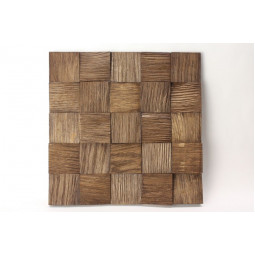 Деревянная 3D мозаика - quadro3d60k-7 - 300*300 мм