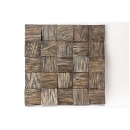 Деревянная 3D мозаика - quadro3d60k-8 - 300*300 мм