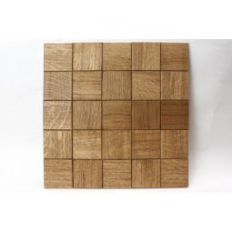 Деревянная мозаика - quadro60s-4 - 300*300 мм