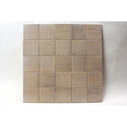 Деревянная мозаика - quadro60s-2 - 300*300 мм