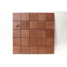 Деревянная мозаика - quadro60s-6 - 300*300 мм