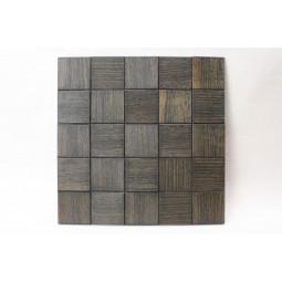 Деревянная мозаика - quadro60s-9 - 300*300 мм