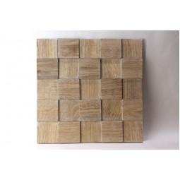 Деревянная мозаика - quadro3d60s-2 - 300*300 мм