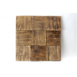 Деревянная 3D мозаика - quadro3d100k-3 - 300*300 мм