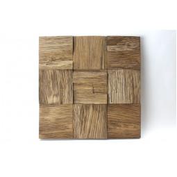 Деревянная 3D мозаика - quadro3d100k-4 - 300*300 мм