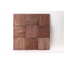 Деревянная 3D мозаика - quadro3d100k-6 - 300*300 мм