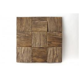 Деревянная 3D мозаика - quadro3d100k-7 - 300*300 мм