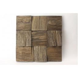 Деревянная 3D мозаика - quadro3d100k-8 -