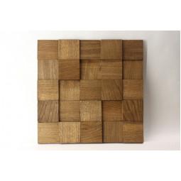 Деревянная мозаика - quadro3d60s-4 - 300*300 мм