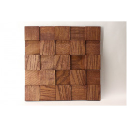 Деревянная мозаика - quadro3d60s-6 - 300*300 мм