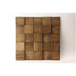 Деревянная мозаика - quadro3d60s-7 - 300*300 мм