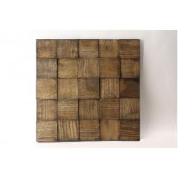 Деревянная мозаика - quadro3d60s-8 - 300*300 мм