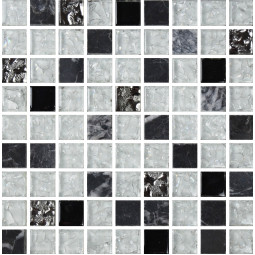 Мозаика из камня и стекла - 2026 - 300*300 мм