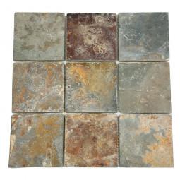 Мозаика из сланца - MS0546(4) - 300*300 мм