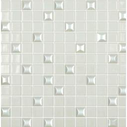 Стеклянная мозаика Edna mix №100 - 317*317 мм
