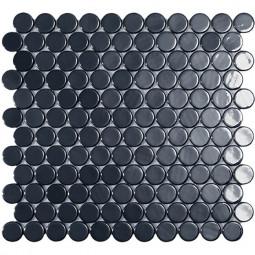 Стеклянная мозаика  Circle № 6005 BR - 295*310 мм
