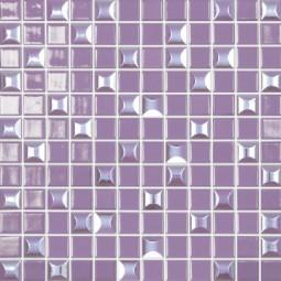 Стеклянная мозаика Edna mix №833 - 317*317 мм