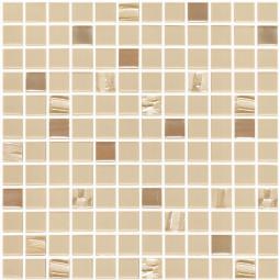 Стеклянная мозаика Astra Beige - 317*317 мм