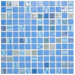 Стеклянная мозаика Astra Blue - 317*317 мм