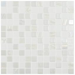 Стеклянная мозаика Astra White - 317*317 мм