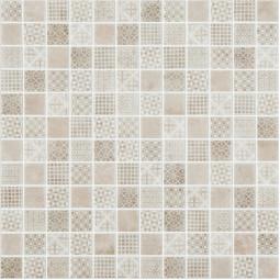 Стеклянная мозаика Born beige - 317*317 мм