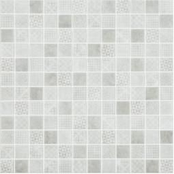 Стеклянная мозаика Born grey - 317*317 мм