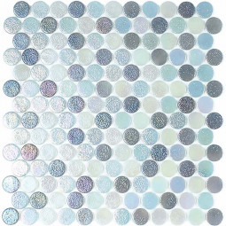 Стеклянная мозаика Circle № 558/553/554 - 295*310 мм
