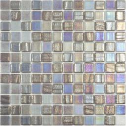 Стеклянная мозаика Fusion Grey - 317*317 мм