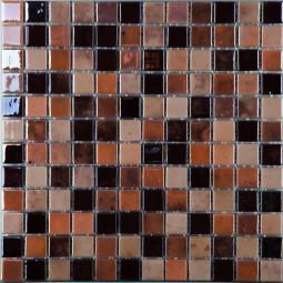 Стеклянная мозаика Lux № 406 - 317*317 мм