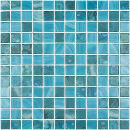 Стеклянная мозаика Nature  Sky №5707 MT 25*25  - 317*317 мм